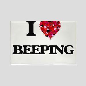 I Love Beeping Magnets