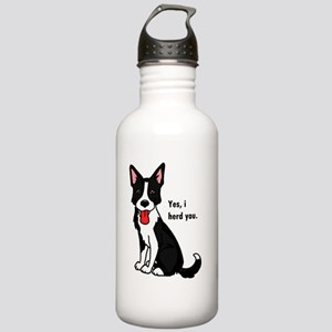 Border Collie -yes, i  Stainless Water Bottle 1.0L