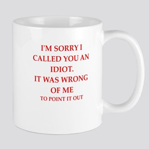 idiot Mugs