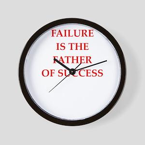 failure Wall Clock