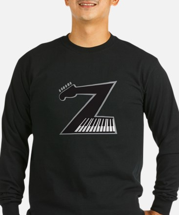 Z Guitar Piano Long Sleeve T-Shirt