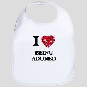 I Love Being Adored Bib