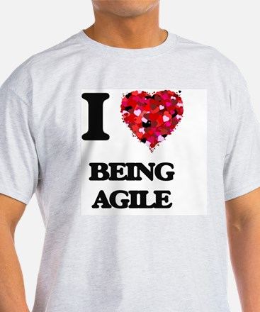 I Love Being Agile T-Shirt