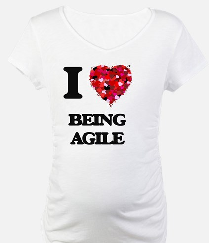 I Love Being Agile Shirt