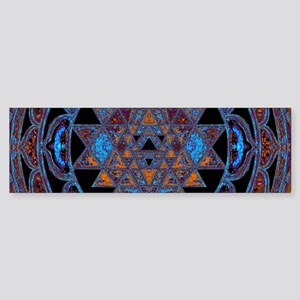 Lakshmi Yantra Mandala- Lapis Bumper Sticker