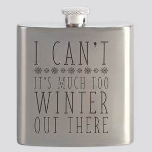 Much Too Winter Flask