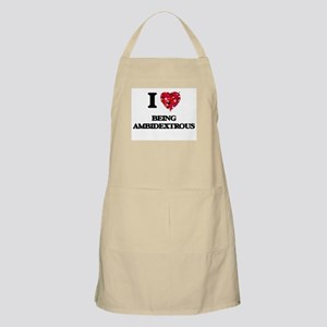 I Love Being Ambidextrous Apron