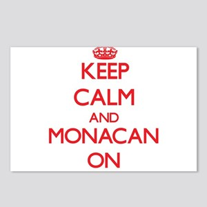 Keep Calm and Monacan ON Postcards (Package of 8)