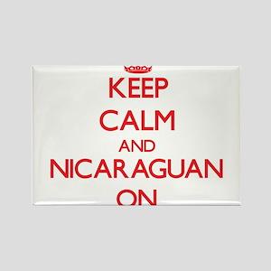 Keep Calm and Nicaraguan ON Magnets