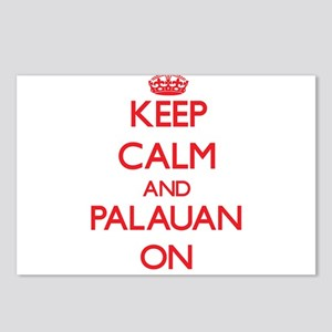 Keep Calm and Palauan ON Postcards (Package of 8)