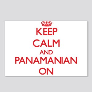 Keep Calm and Panamanian Postcards (Package of 8)