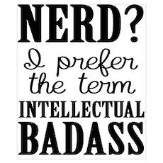 Nerds Are Badasses Poster
