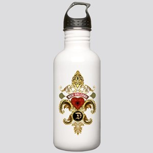 New Orleans Monogram D Stainless Water Bottle 1.0L