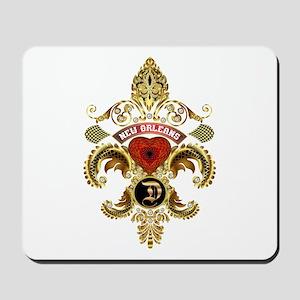 New Orleans Monogram D Mousepad