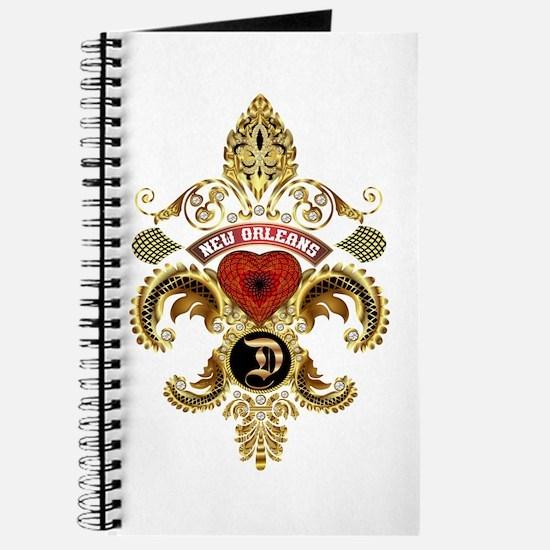 New Orleans Monogram D Journal