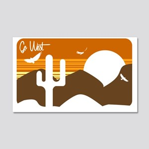 Go West Wall Decal