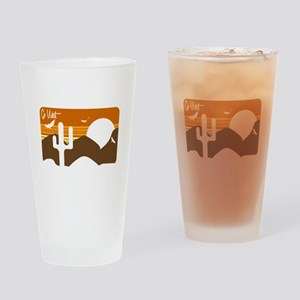 Go West Drinking Glass