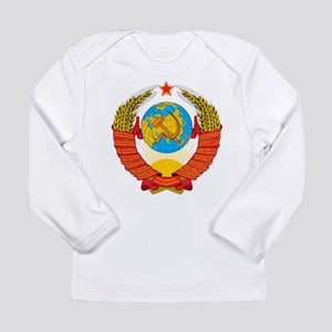 USSR Coat of Arms 15 Republic Long Sleeve T-Shirt