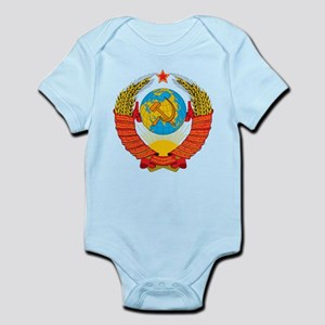 USSR Coat of Arms 15 Republic Emblem Body Suit