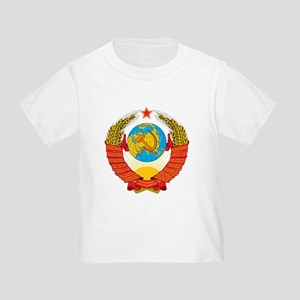 ed9cf19c34a USSR Coat of Arms 15 Republic Emblem T-Shirt