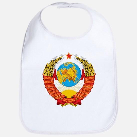 USSR Coat of Arms 15 Republic Emblem Bib