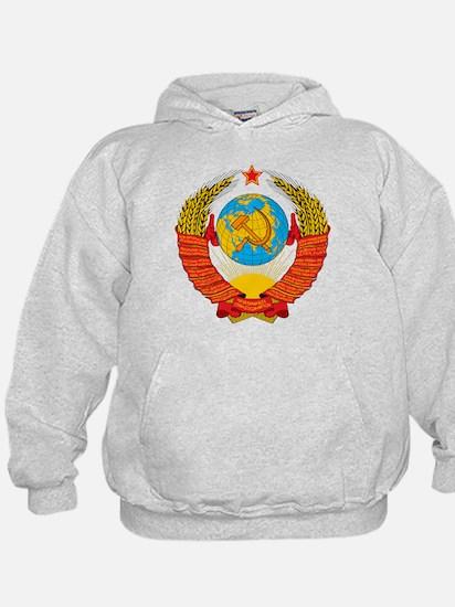 USSR Coat of Arms 15 Republic Emblem Hoodie