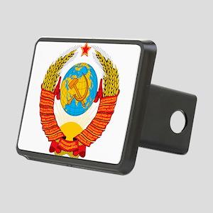 USSR Coat of Arms 15 Repub Rectangular Hitch Cover