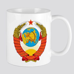 USSR Coat of Arms 15 Republic Emblem Mugs