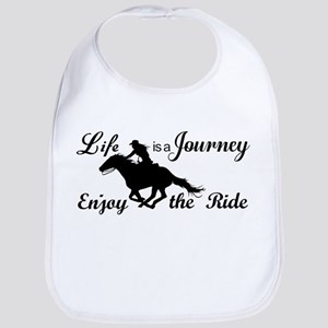 Life is a Journey, Enjoy the Ride Bib