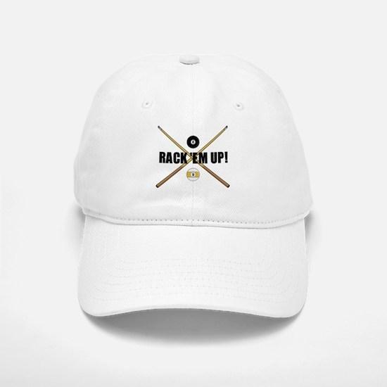 Rack 'em up Baseball Baseball Cap
