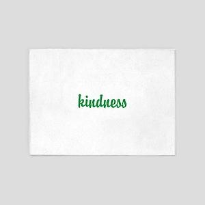 Kindness 5'x7'Area Rug