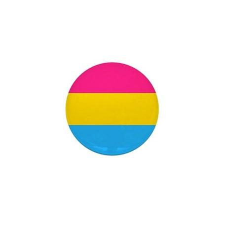 Pansexual Pride Flag Mini Button