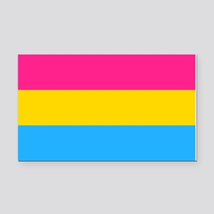 Pansexual Pride Flag Rectangle Car Magnet