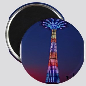 CONEY ISLAND'S WORLD FAMOUS PARACHUTE JUMP Magnets