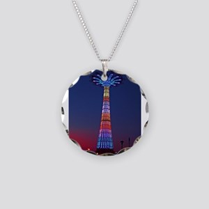 CONEY ISLAND'S WORLD FAMOUS Necklace Circle Charm