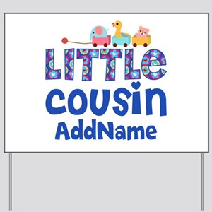 Personalized Little Cousin Yard Sign