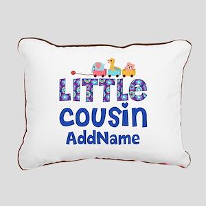 Personalized Little Cous Rectangular Canvas Pillow