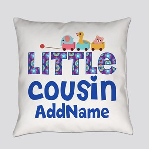 Personalized Little Cousin Everyday Pillow