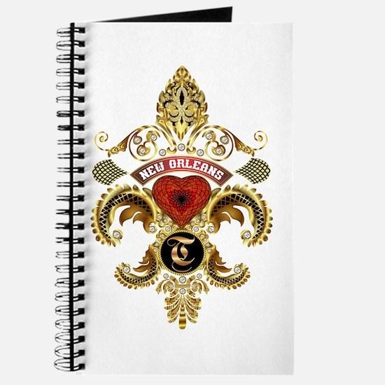 New Orleans Monogram T Journal