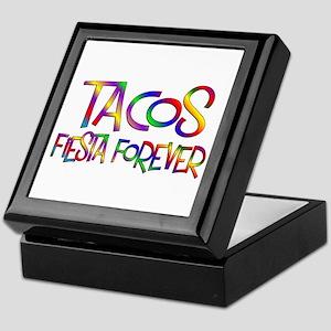 Tacos Forever Keepsake Box