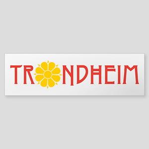 Trondheim Bumper Sticker