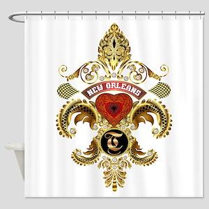 T-Monogram-Nola Shower Curtain