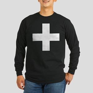 swiss flag Long Sleeve T-Shirt