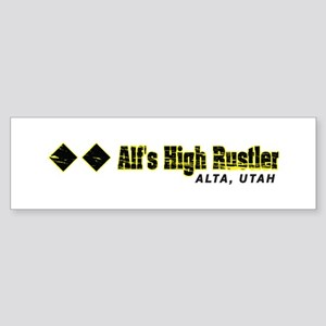 Ski Alta, Alfs High Rustler Bumper Sticker