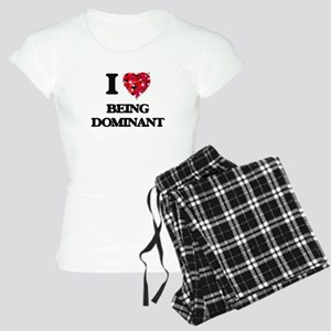 I Love Being Dominant Women's Light Pajamas