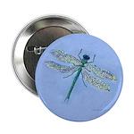 Dragonfly Blue 2.25