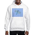 Dragonfly Blue Hooded Sweatshirt
