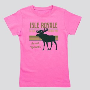 Isle Royale Moose National Park Girl's Tee
