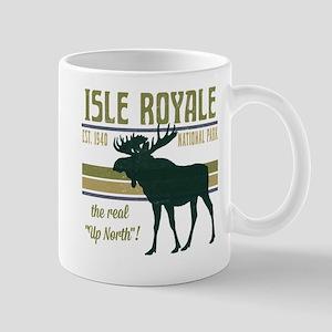 Isle Royale Moose National Park Mug