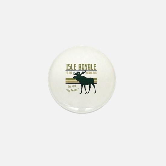 Isle Royale Moose National Park Mini Button
